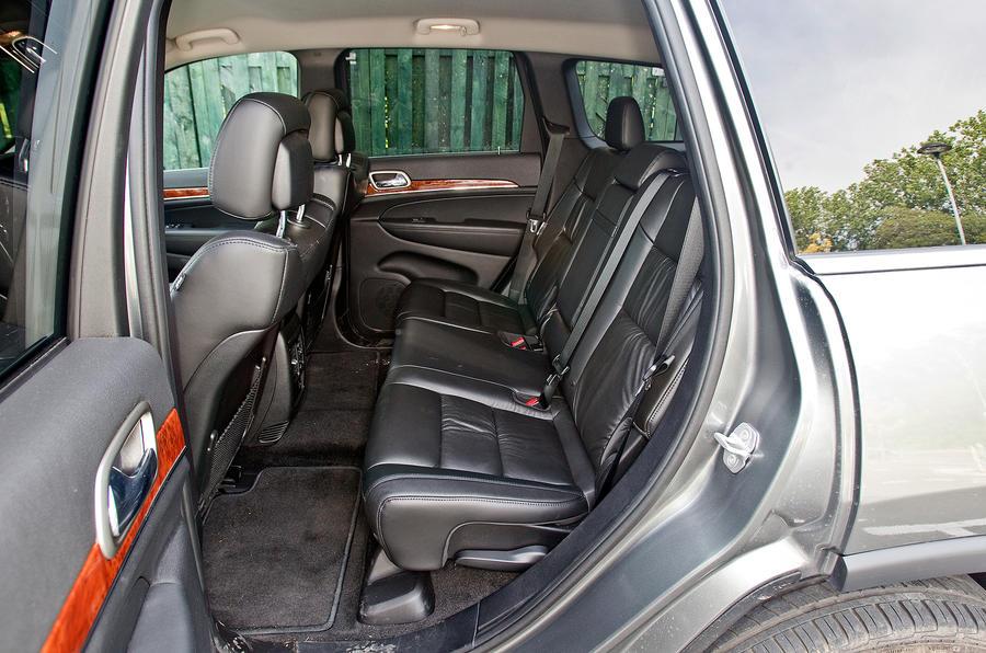 Jeep Grand Cherokee interior | Autocar