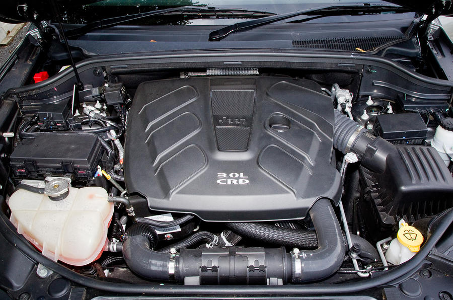 Jeep Grand Cherokee 3.0-litre V6 engine