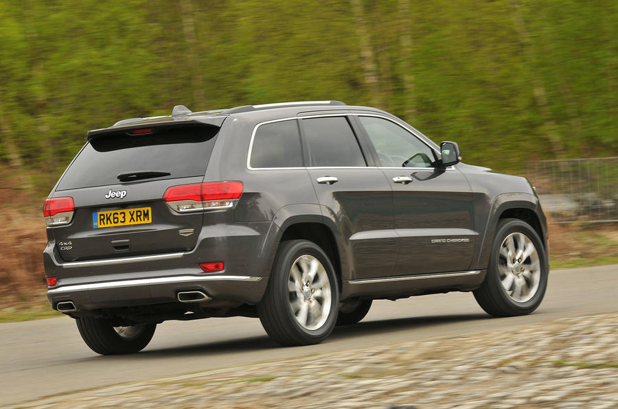 Jeep Grand Cherokee rear