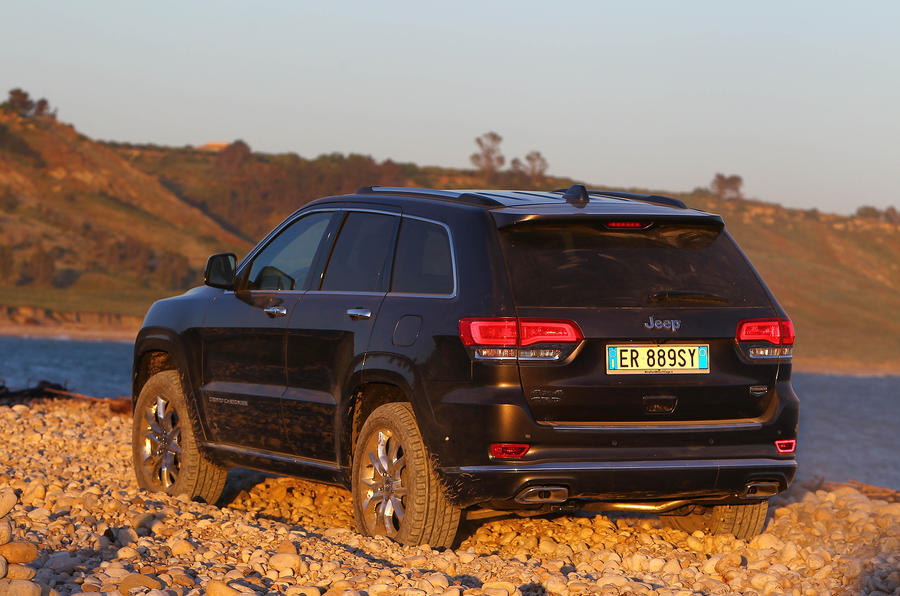 Jeep Grand Cherokee rear end