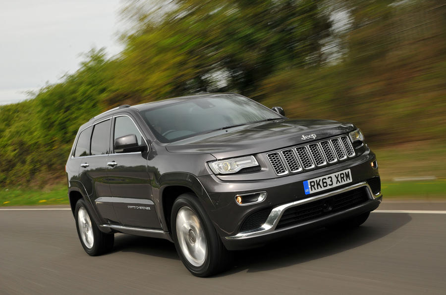 3.5 star Jeep Grand Cherokee