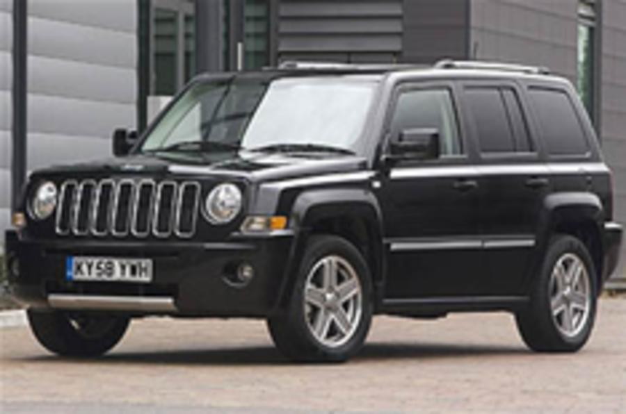 Jeep Patriot range revised
