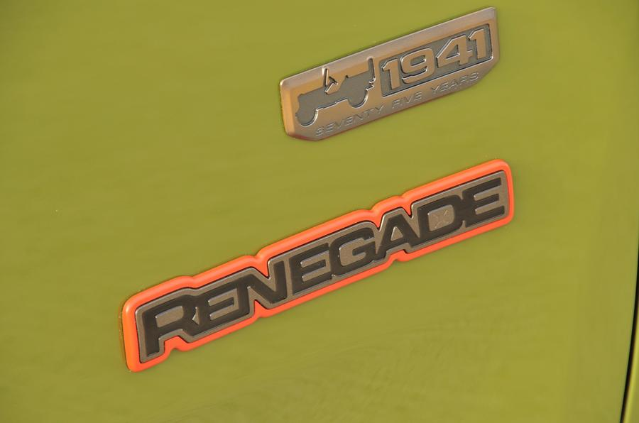 Jeep Renegade badging
