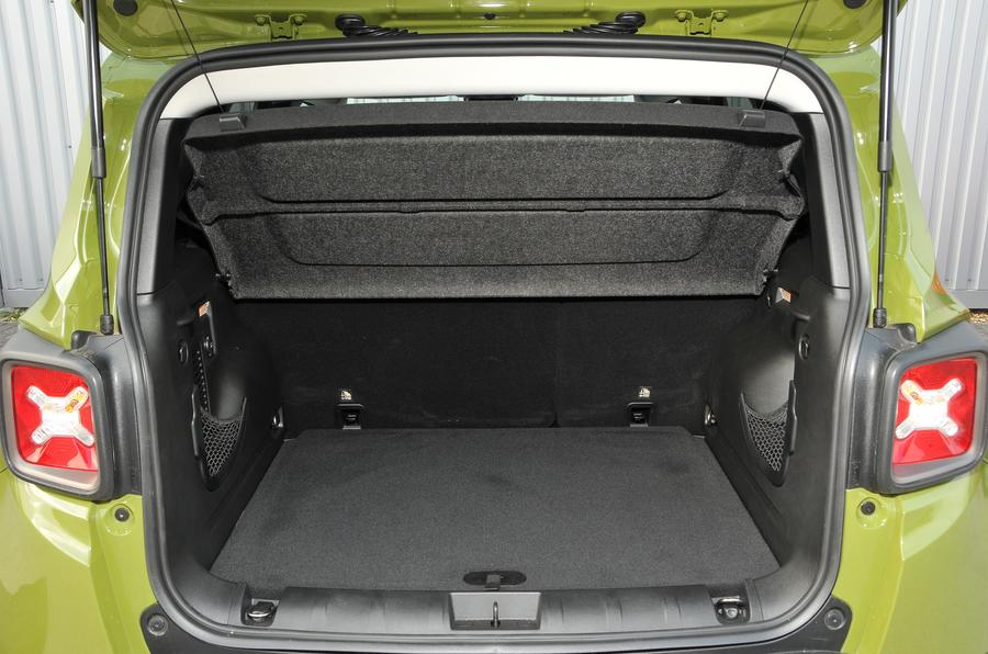 Jeep Renegade boot space