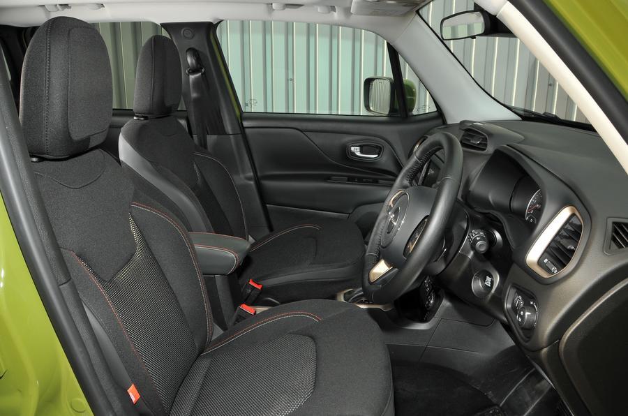 Jeep Renegade interior