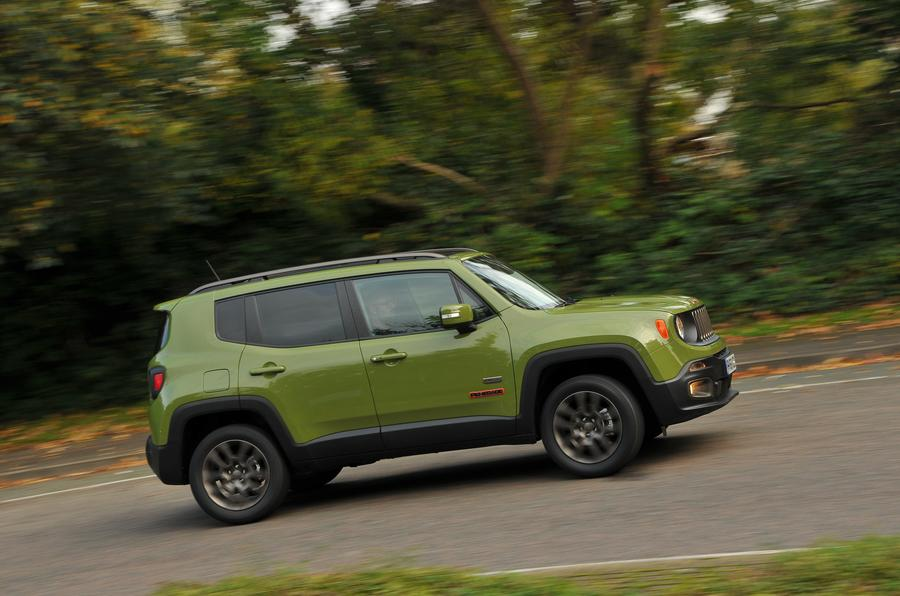 Jeep Renegade side profile