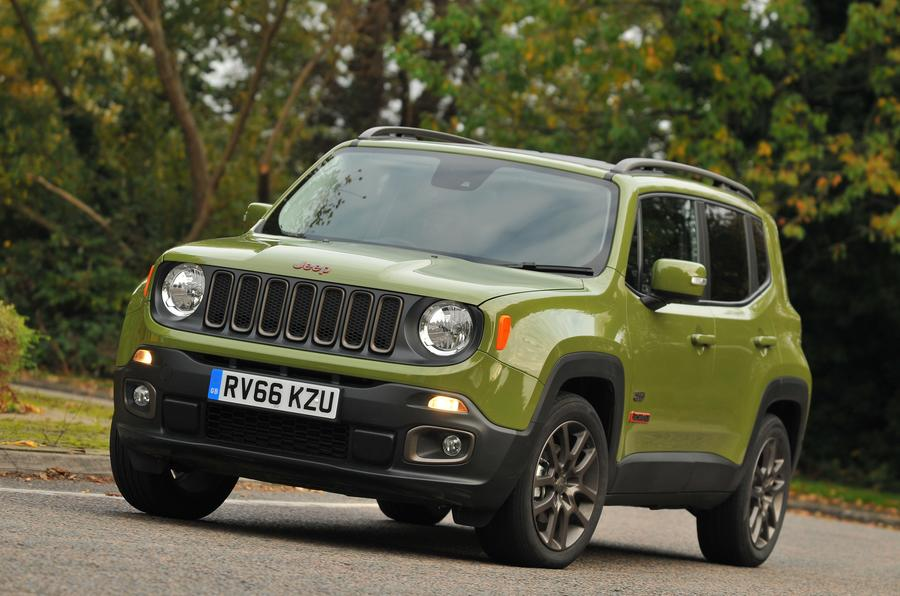 3.5 star Jeep Renegade