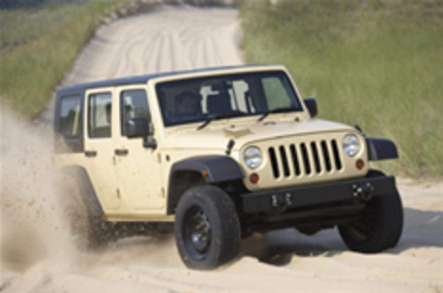 Jeep Wrangler re-enlists