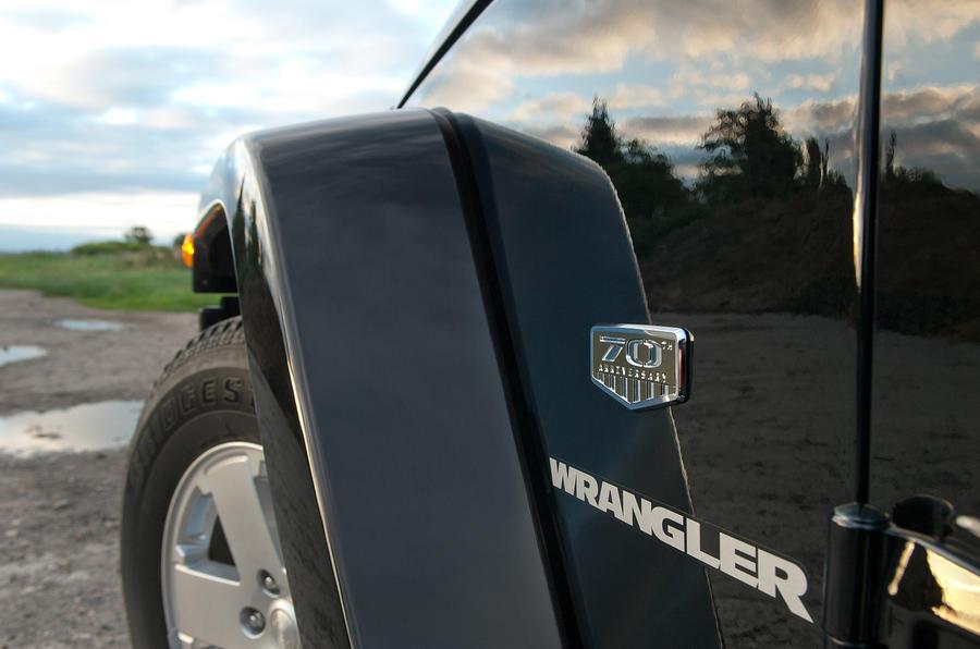 Jeep Wrangler wheelarch