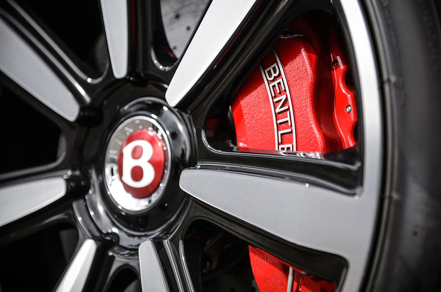 Bentley Continental GT brake calipers