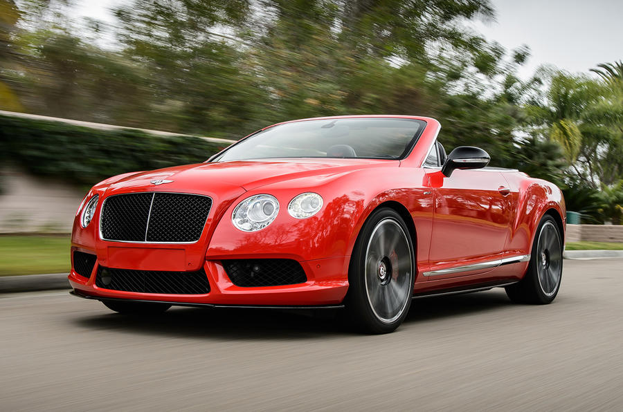 2500kg Bentley Continental GTC V8 S