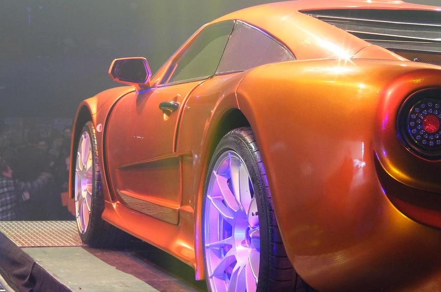 Keating The Bolt supercar