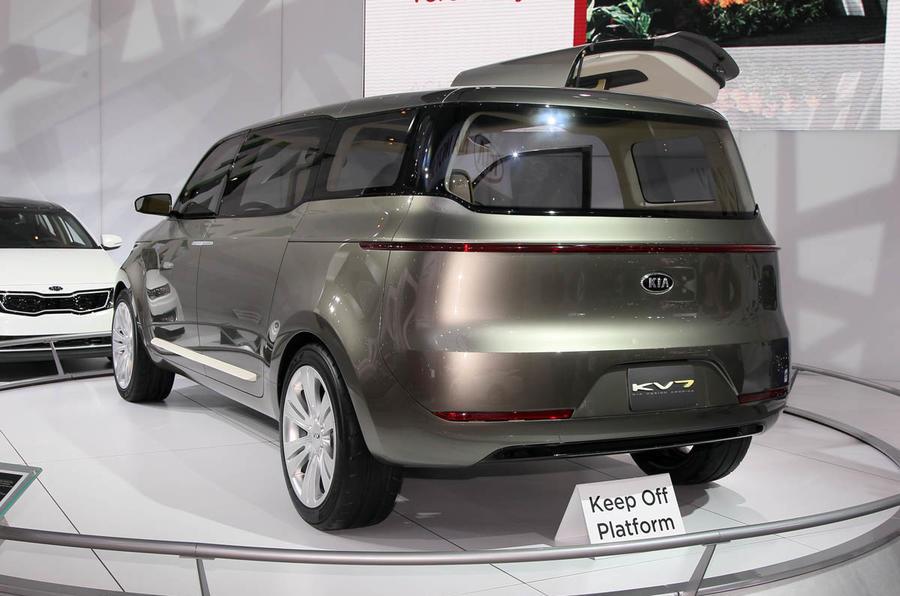 Detroit motor show: Kia KV7