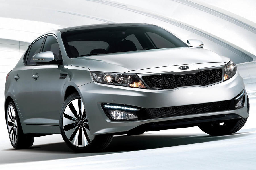 New Kia Magentis still unnamed