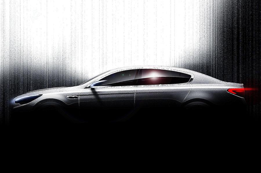 New Kia flagship spied