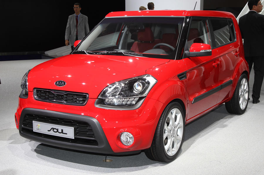 Frankfurt: revamped Kia Soul