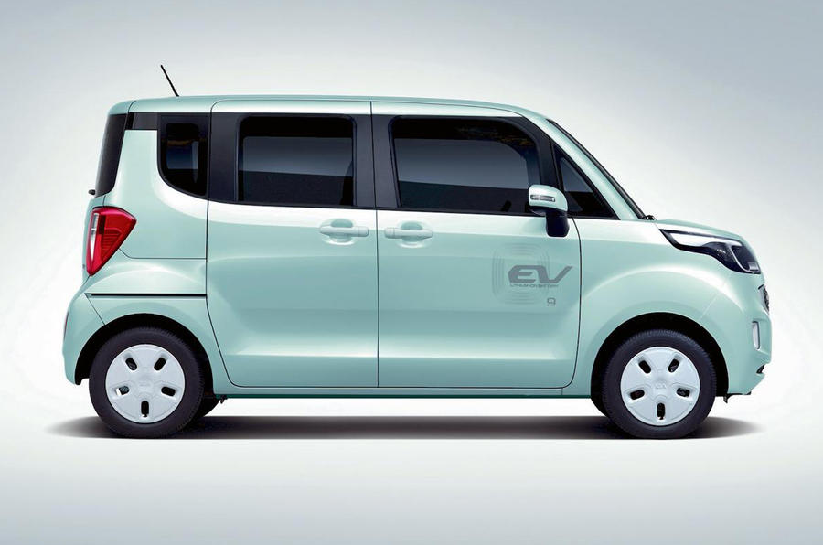 Kia Ray EV breaks cover