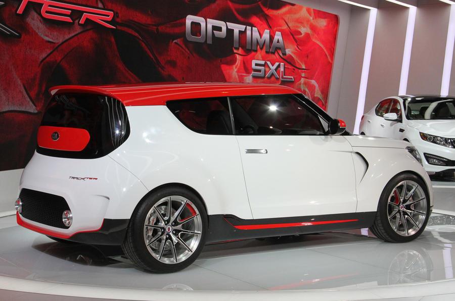Kia Track'ster concept - new pics