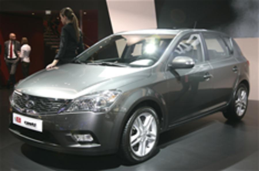 Frankfurt motor show: Kia Cee'd facelift