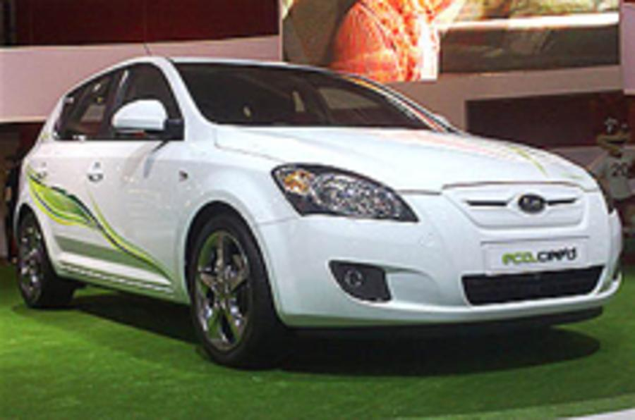 Kia unveils green Cee'd