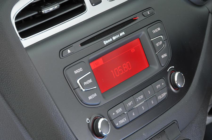 Kia Cee'd infotainment system
