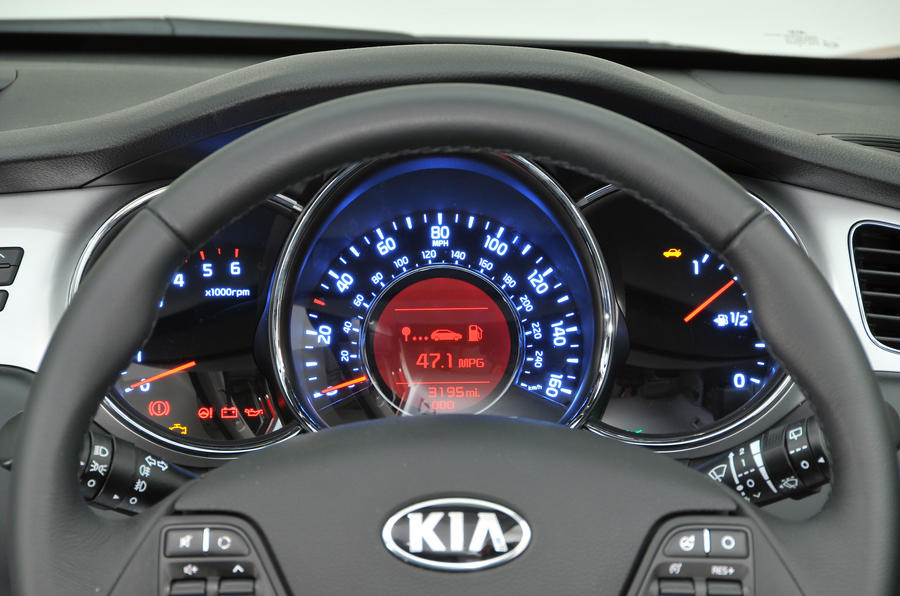 Kia Cee'd instrument cluster