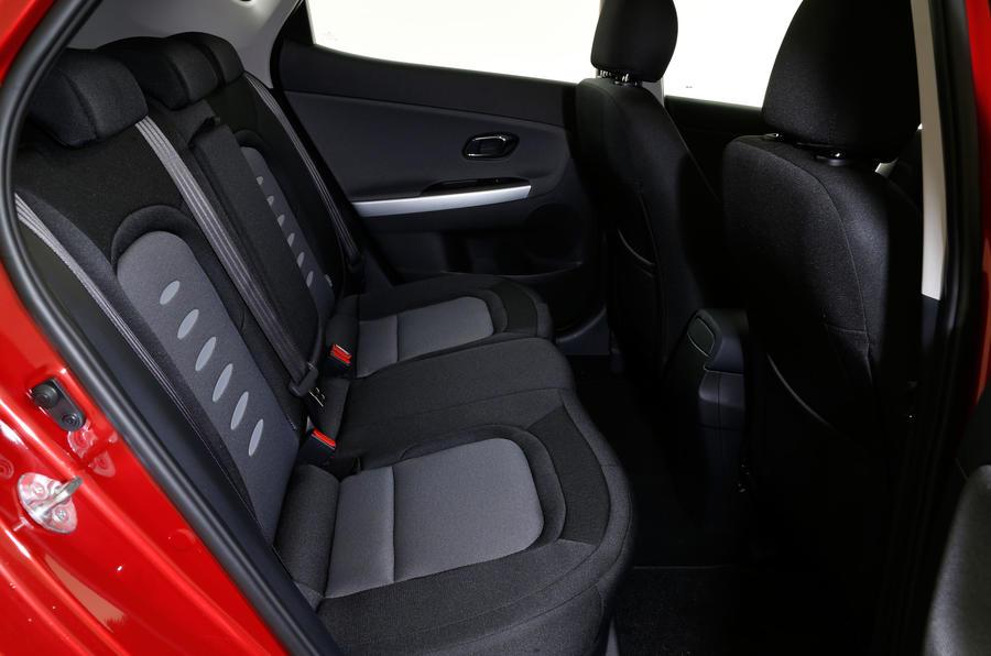 Kia Cee'd rear seats