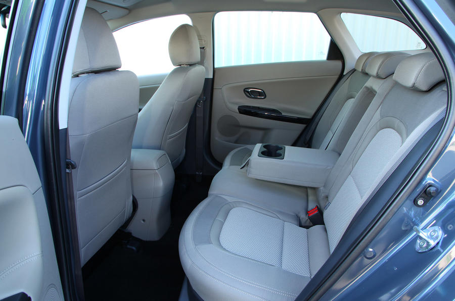 Kia Cee'd Sportswagon rear seats