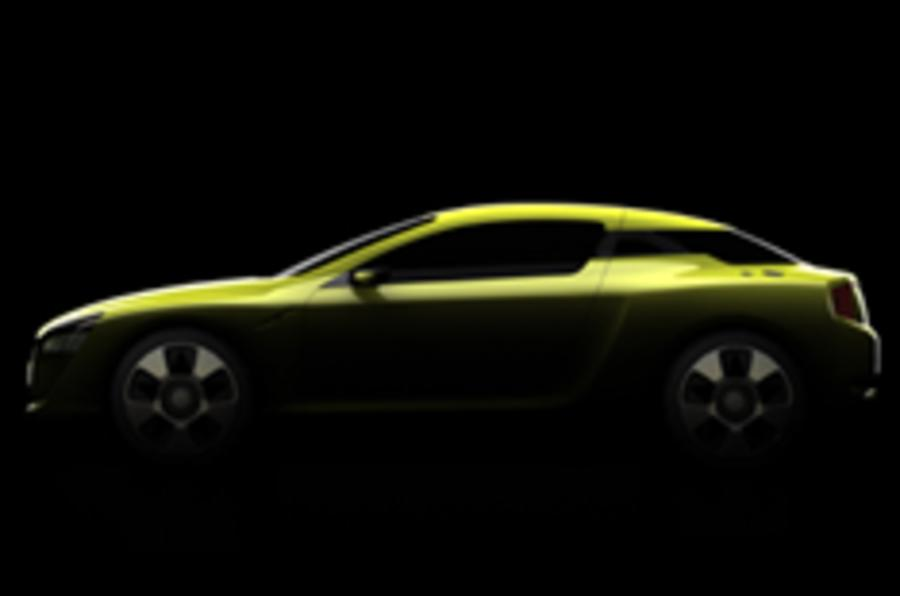 Second glimpse of Kia's coupe