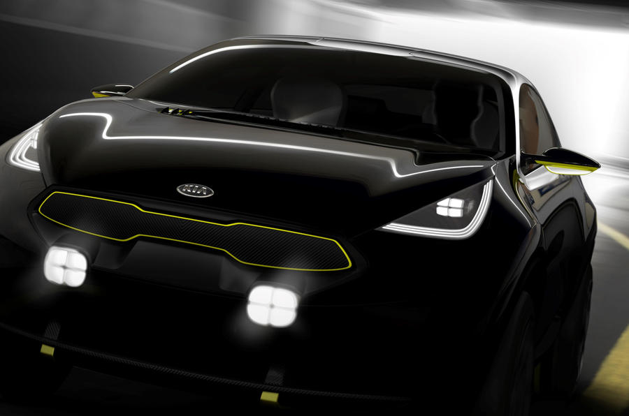 Kia to unveil new concept at the Frankfurt motor show