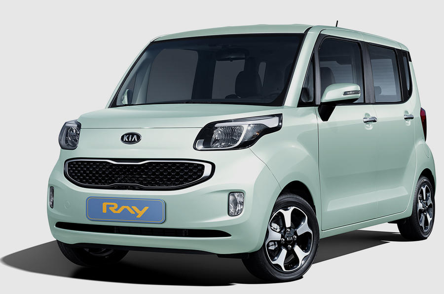 New Kia Ray city car revealed