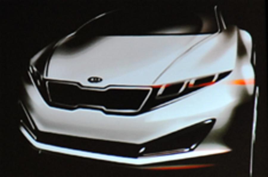 New Kia K9 sketches shown
