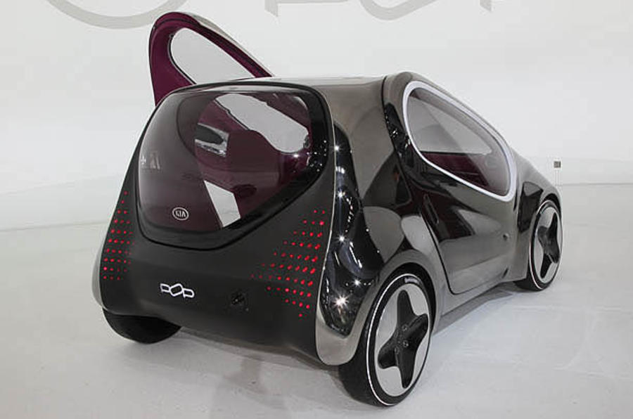 Paris motor show: Kia Pop
