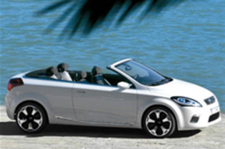 Kia's Ex_cee'dingly pretty cabrio