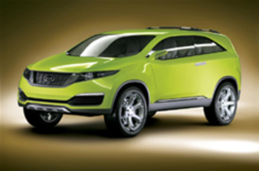 Kia's future is green - bright green