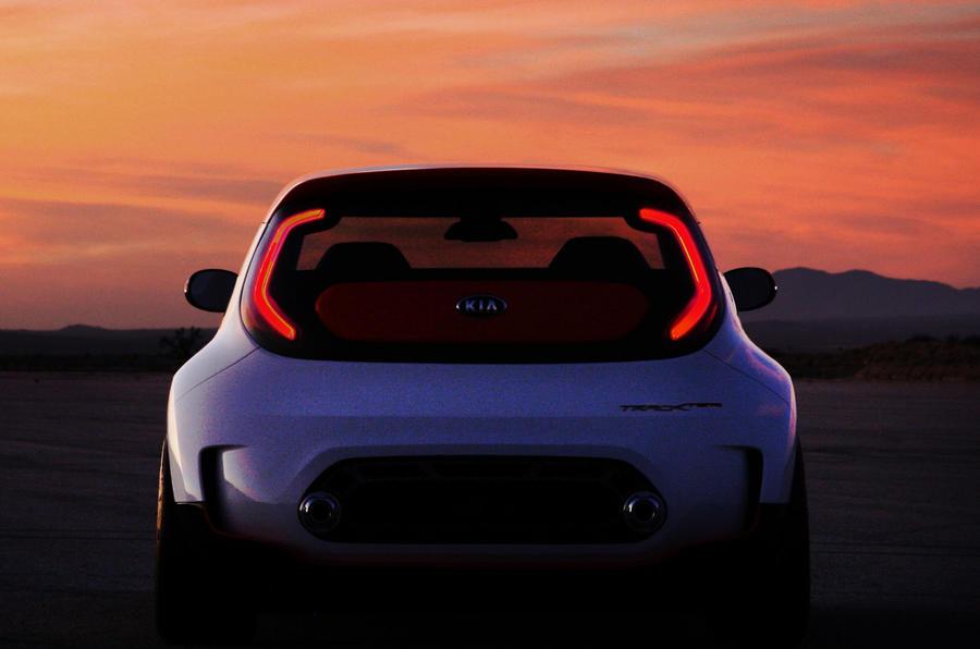 Kia Track'ster concept: latest pic