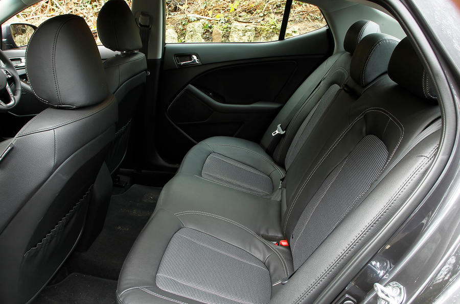 Kia Optima rear seats