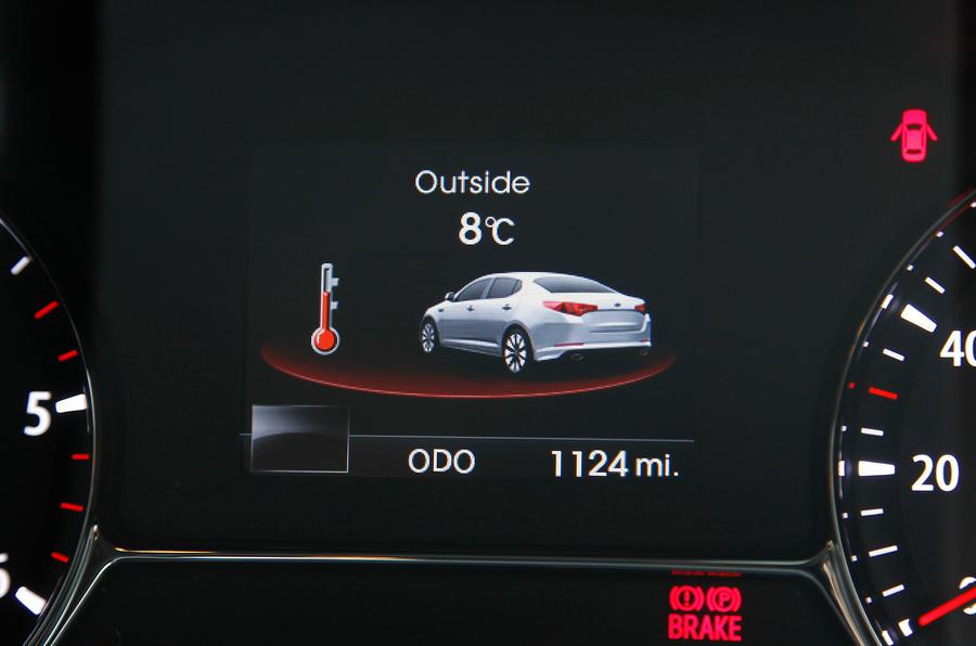 Kia Optima information display
