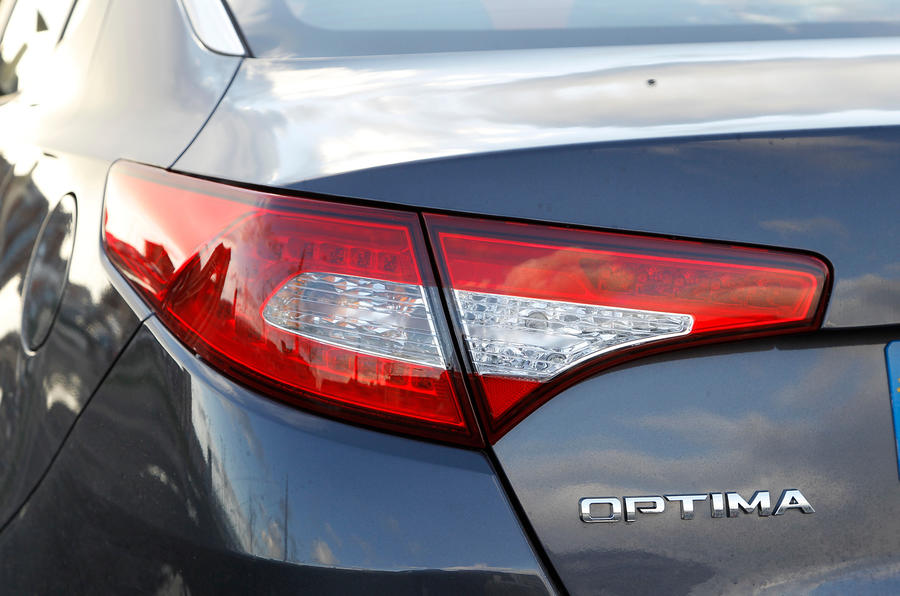 Kia Optima rear lights