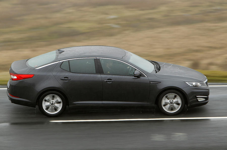 ... Kia Optima Side Profile ...