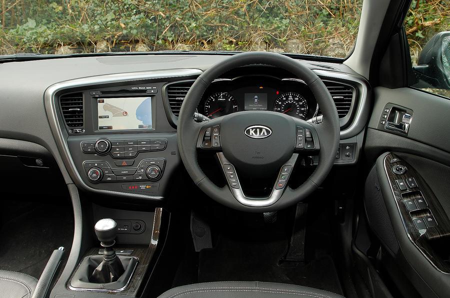 Kia Optima 20122015 interior  Autocar