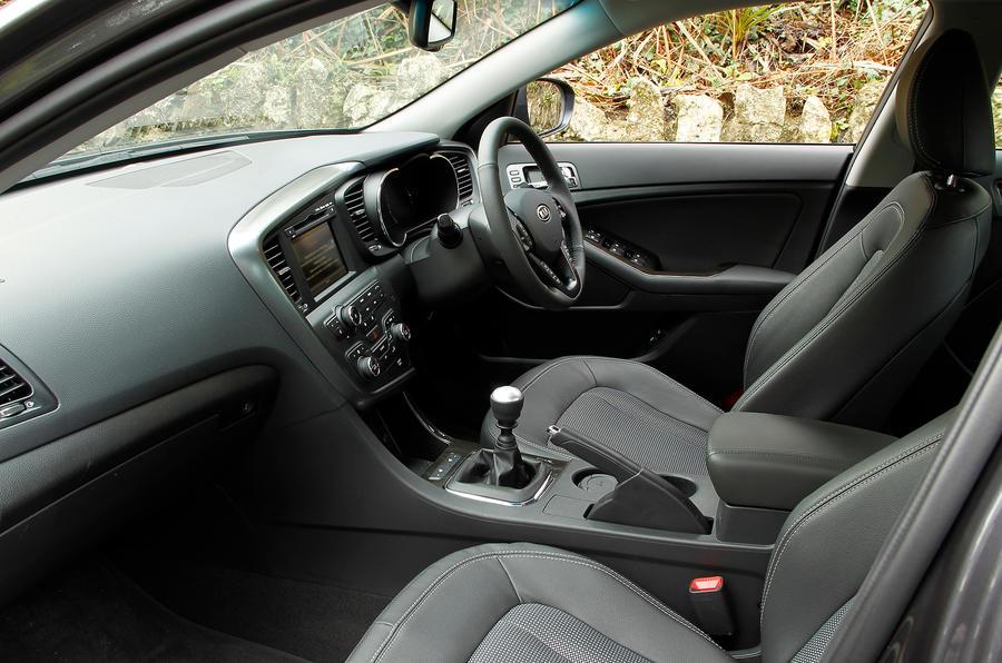 Kia Optima front seats