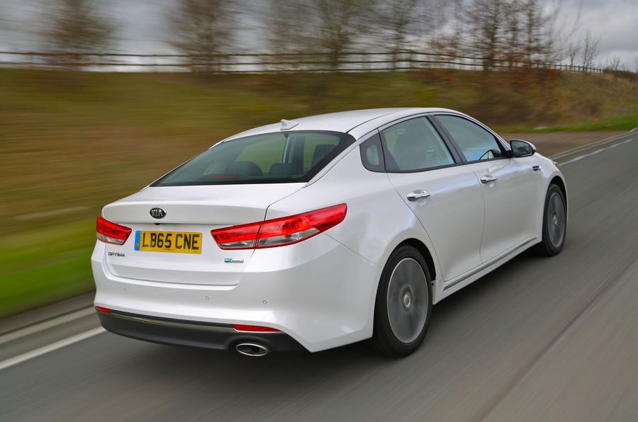 kia optima review  autocar