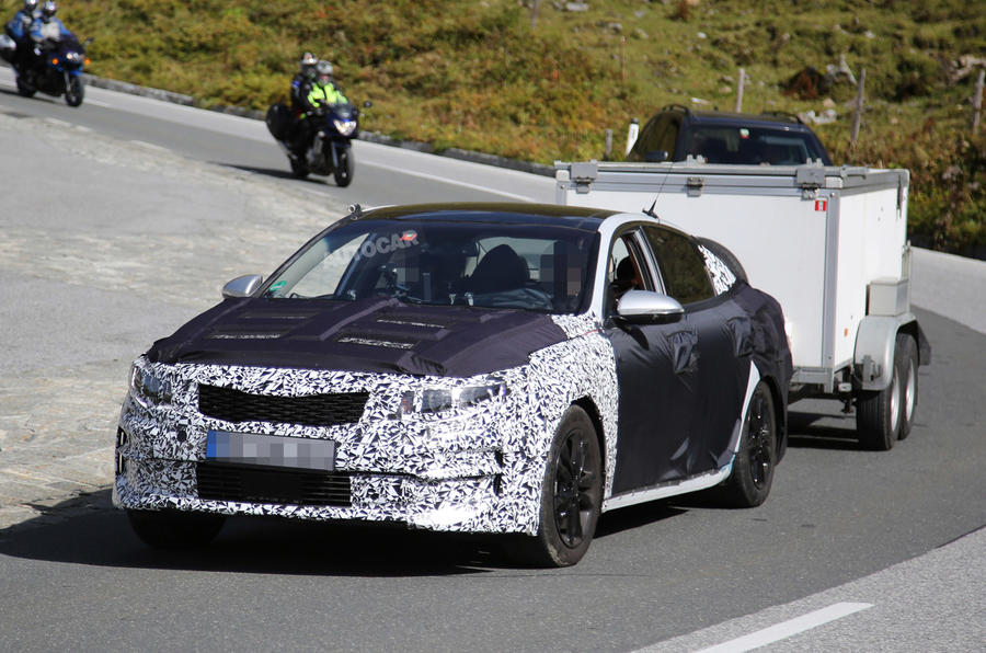 2016 Kia Optima spotted - latest pictures