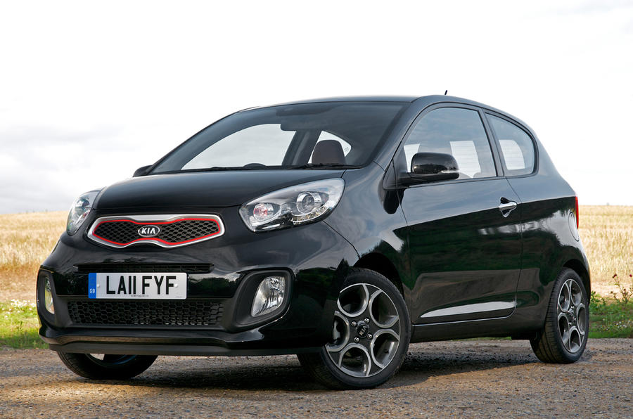 Sporty three-door Picanto revealed