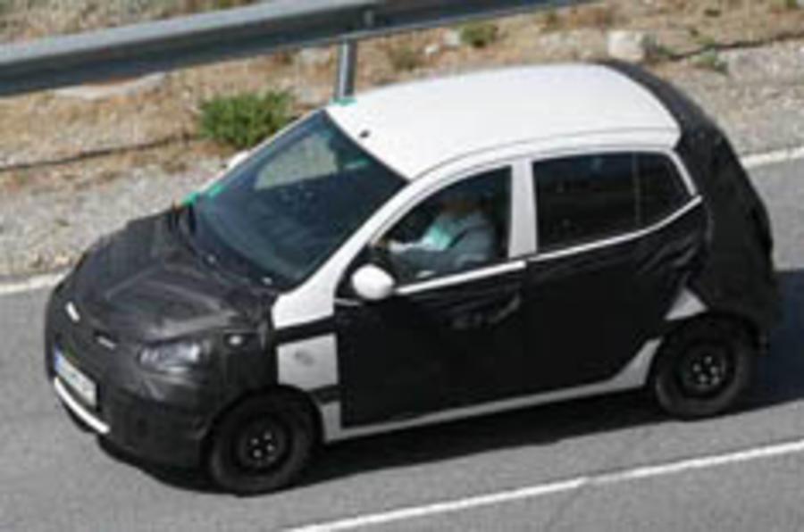 Kia's tweaked Picanto goes testing