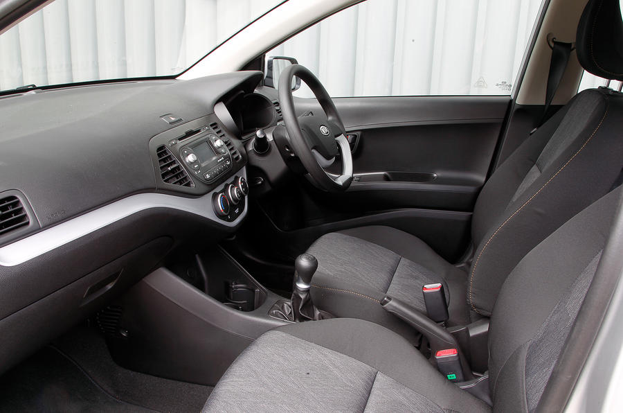 Kia Picanto front seats