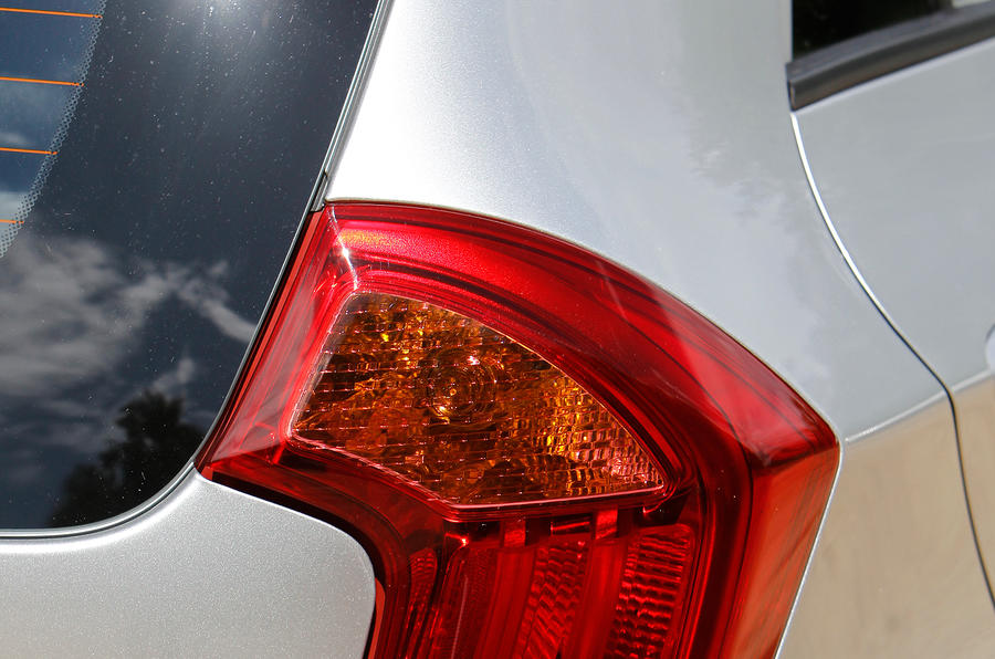 Kia Picanto rear lights