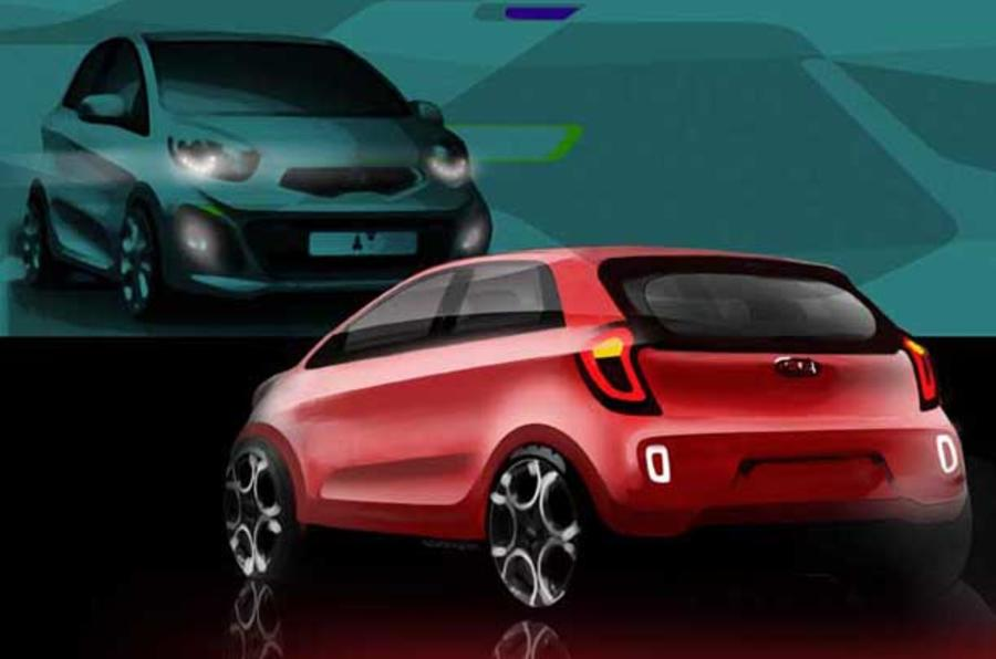 New Kia Picanto - first pics