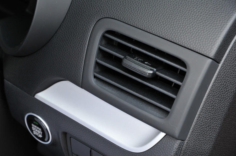 Kia Picanto air vents